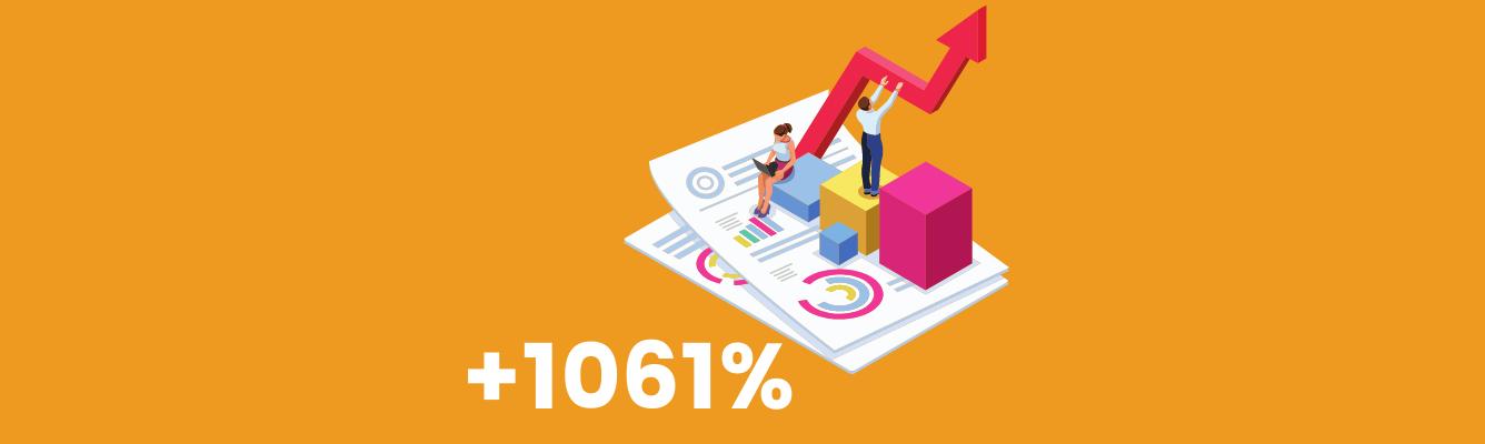 Jak osiągnęliśmy zwrot z inwestycji na poziomie 1061% dla e-commerce
